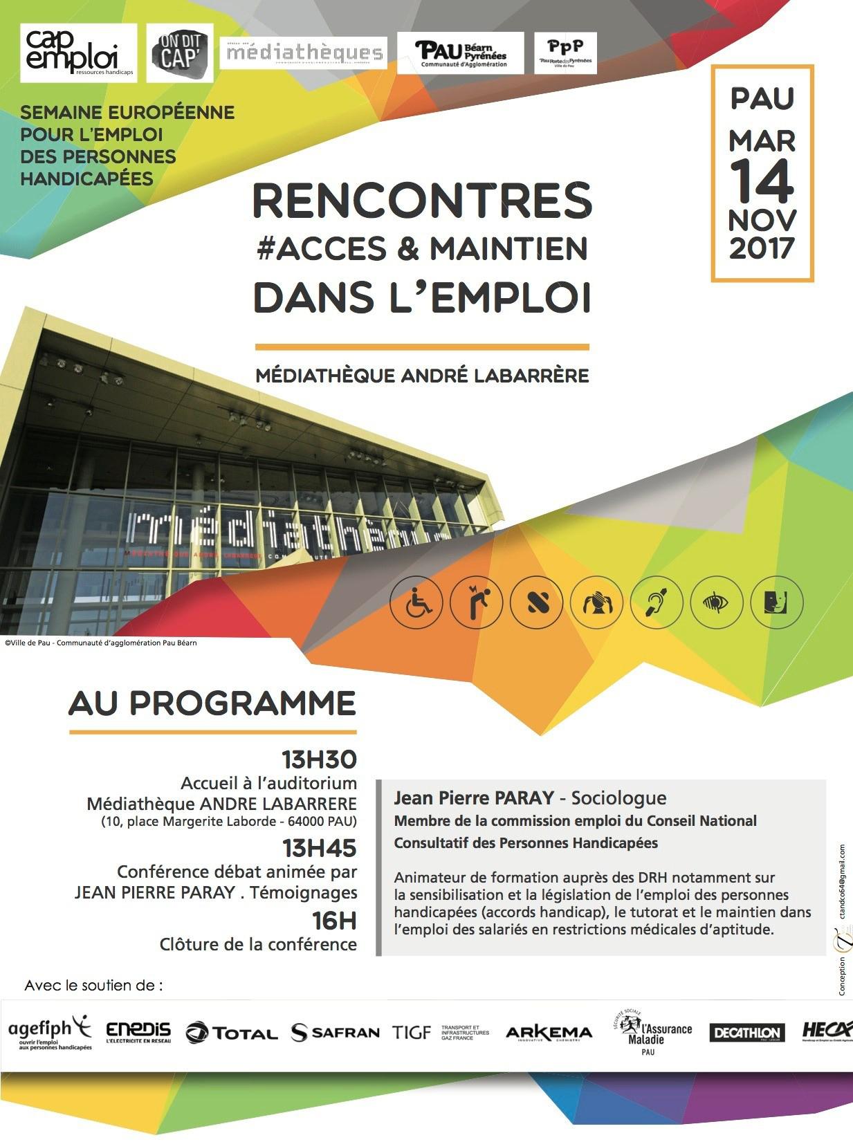 Conférences et débats SEPH animés par Jean Pierre Paray